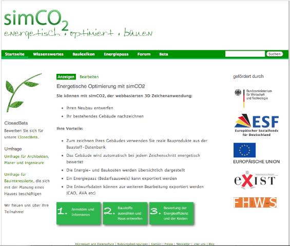 simCO2 Homepage