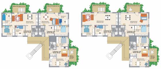 Grundrisse BoKlock Wohnungen