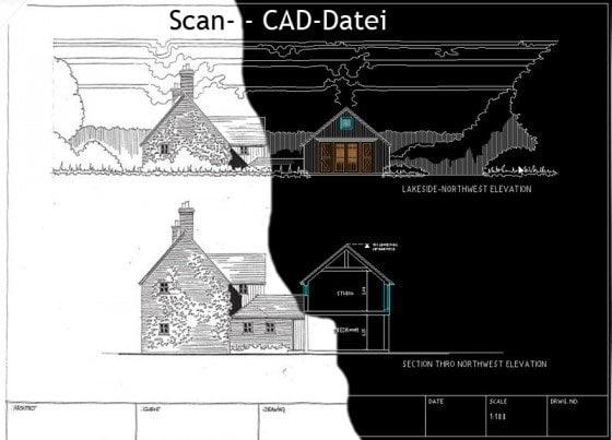 Gegenüberstellung Original-CAD