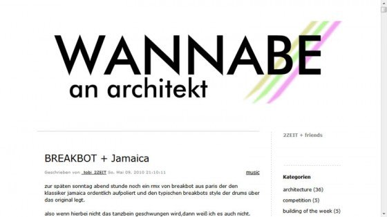 WannaBeAnArchitekt