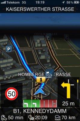 Bosch Navigation Zoom - so sieht es aus