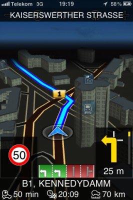 Bosch Navigation Zoom - so sollte es sein